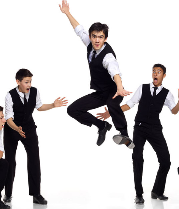 Dancers from Vancouver Tap Dance Society perform