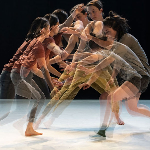 Dance artists from Company 605 perform in Loop, Lull