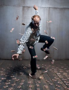 Dance Artist Bill Coleman performing in Dollhouse