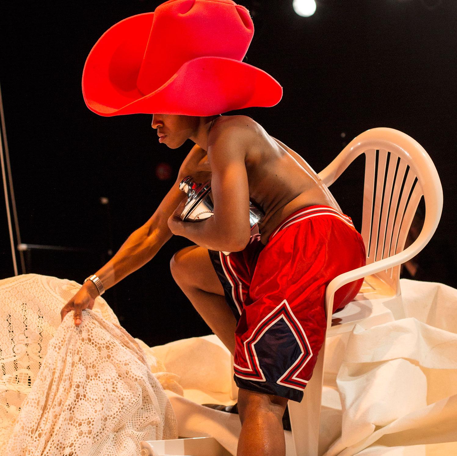 Dance artist Dana Michel performs in CUTLASS SPRING