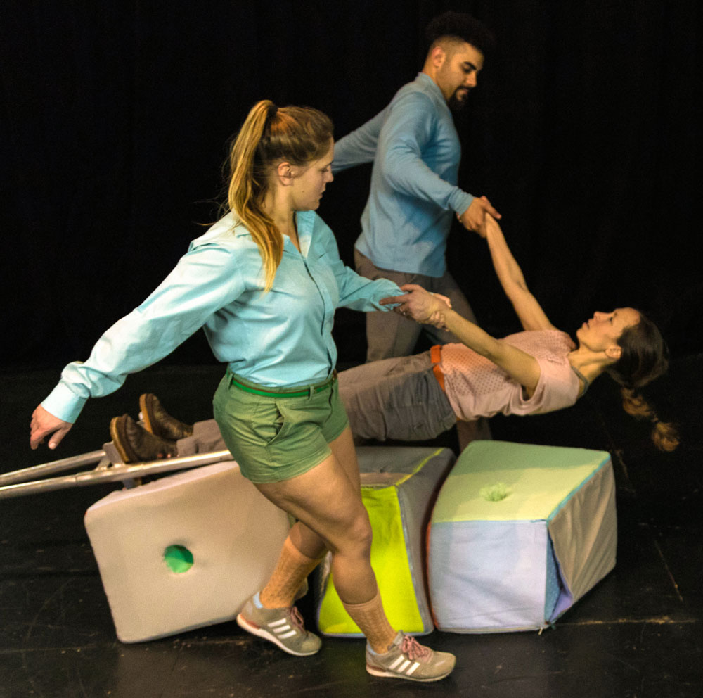Dance artists perform in Isabelle Kirouac's Third Space