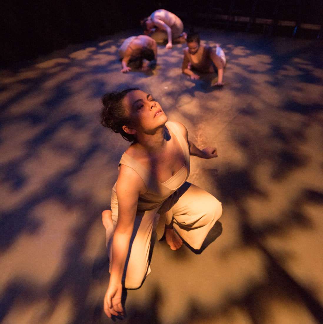 dance artists from Raven Spirit Dance Society perform in Gathering Light