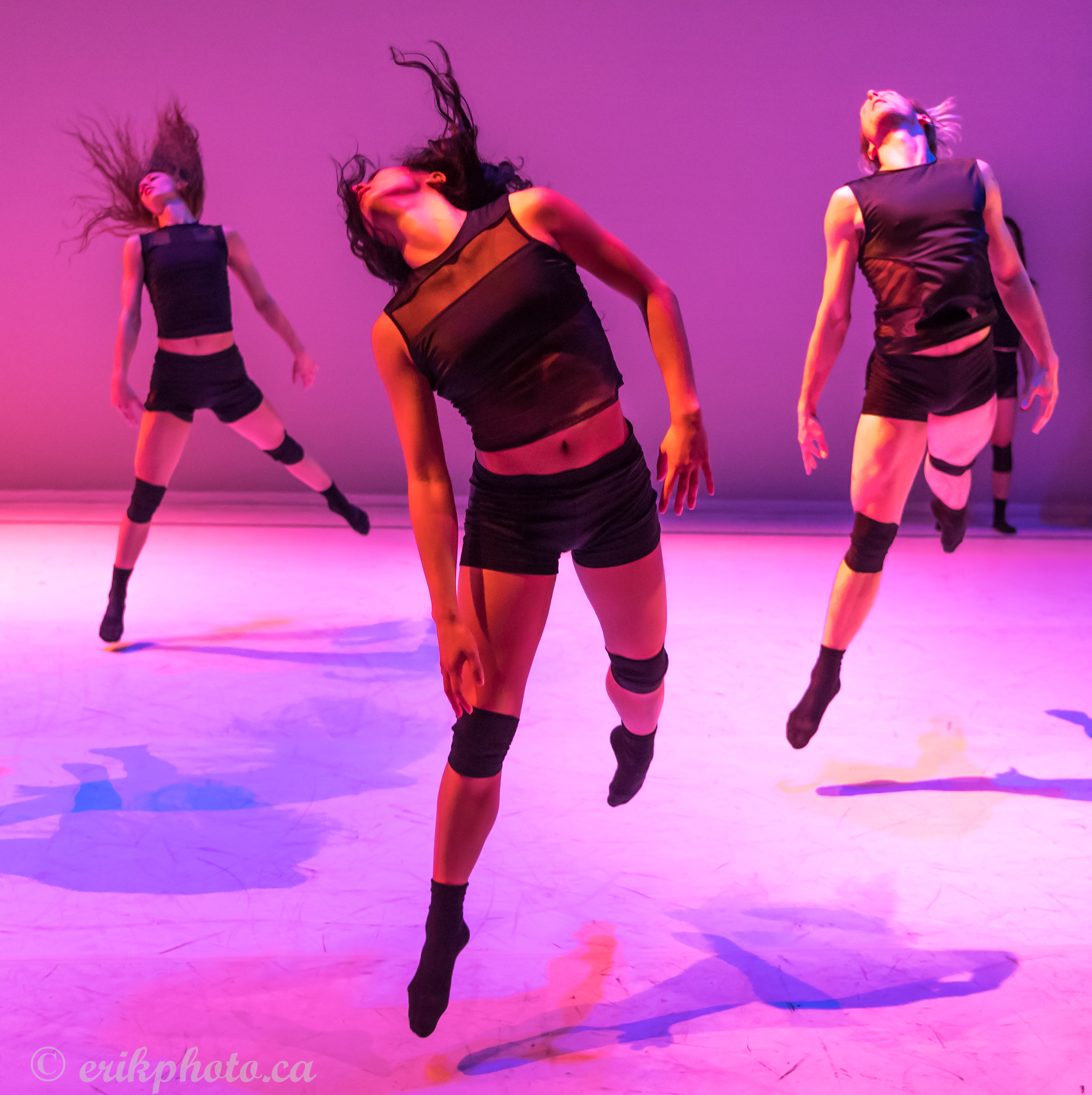 Dance artists from Vision Impure perform in Pathways