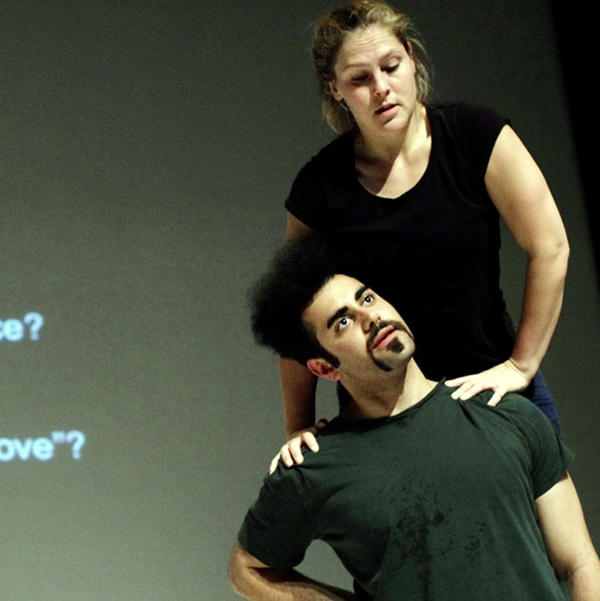 Dance Artists Emmalena Fredriksson and Arash Khakpour perform