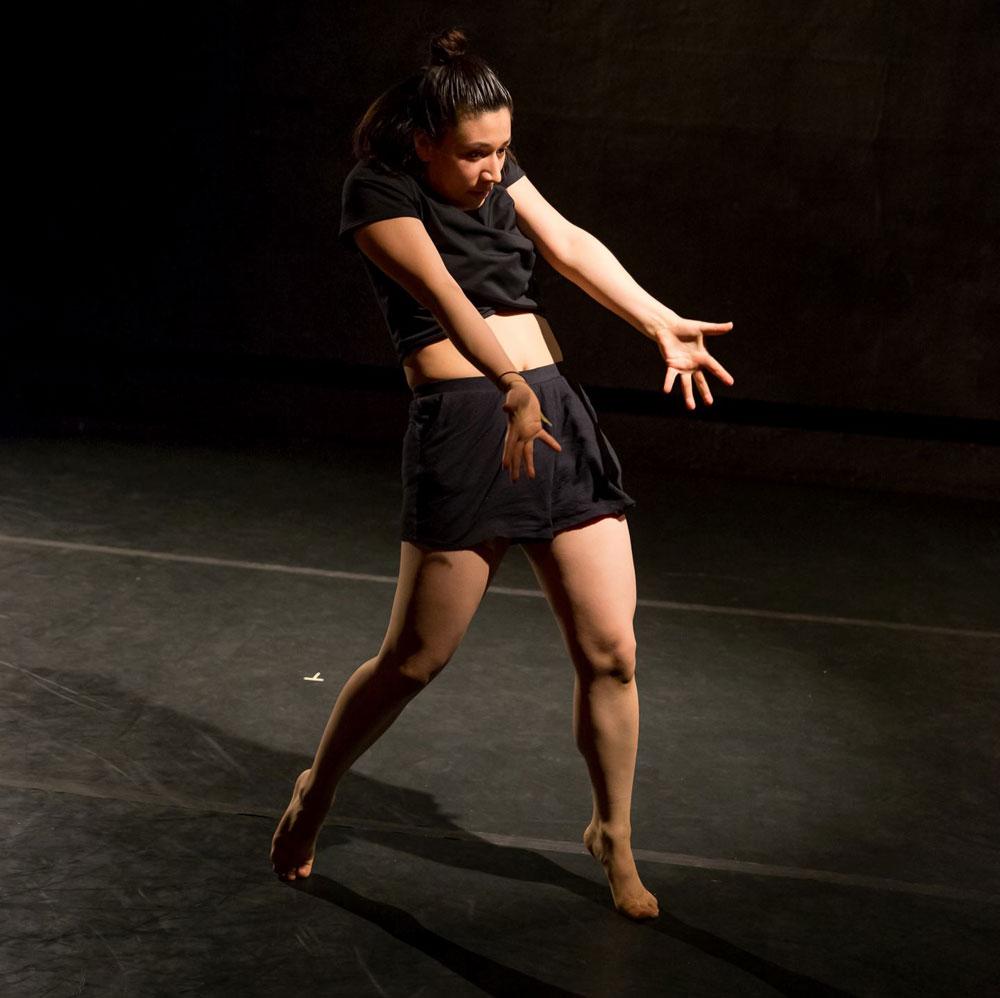 Ana Sosa dancing