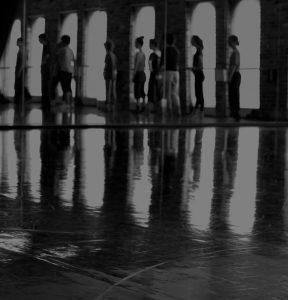 Black and white portrait of dance artists fro Modus Operandi