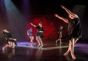 Kokoro Dance performs in Reading the Bones