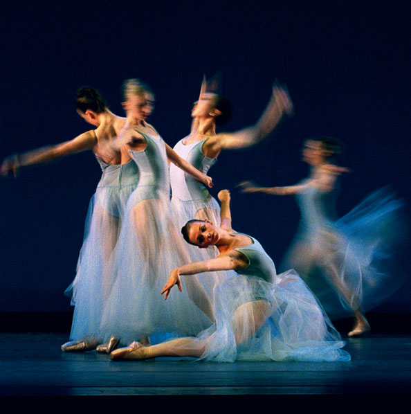 Dance artists from Goh Ballet perform