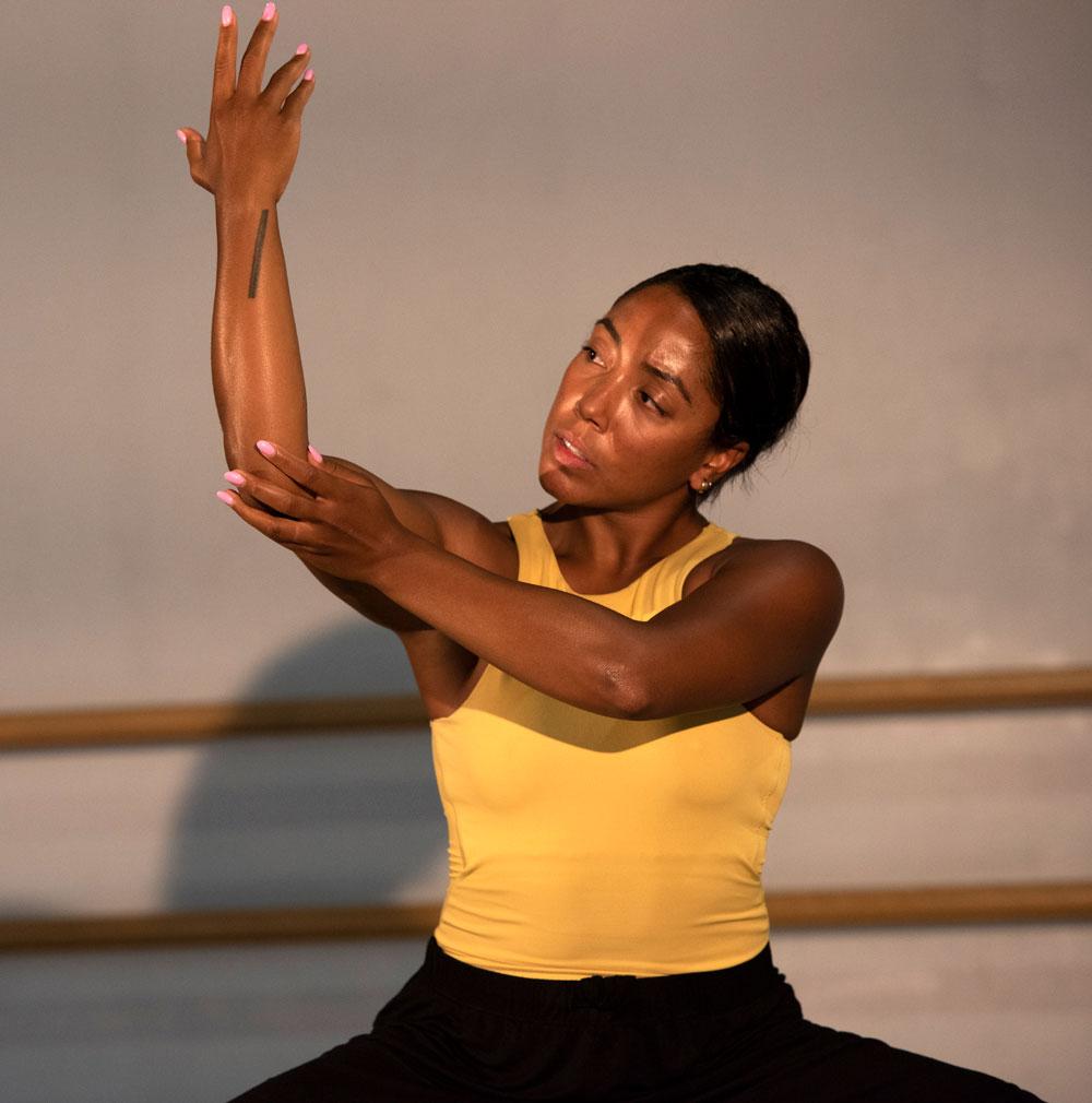 Dancer Livona Ellis