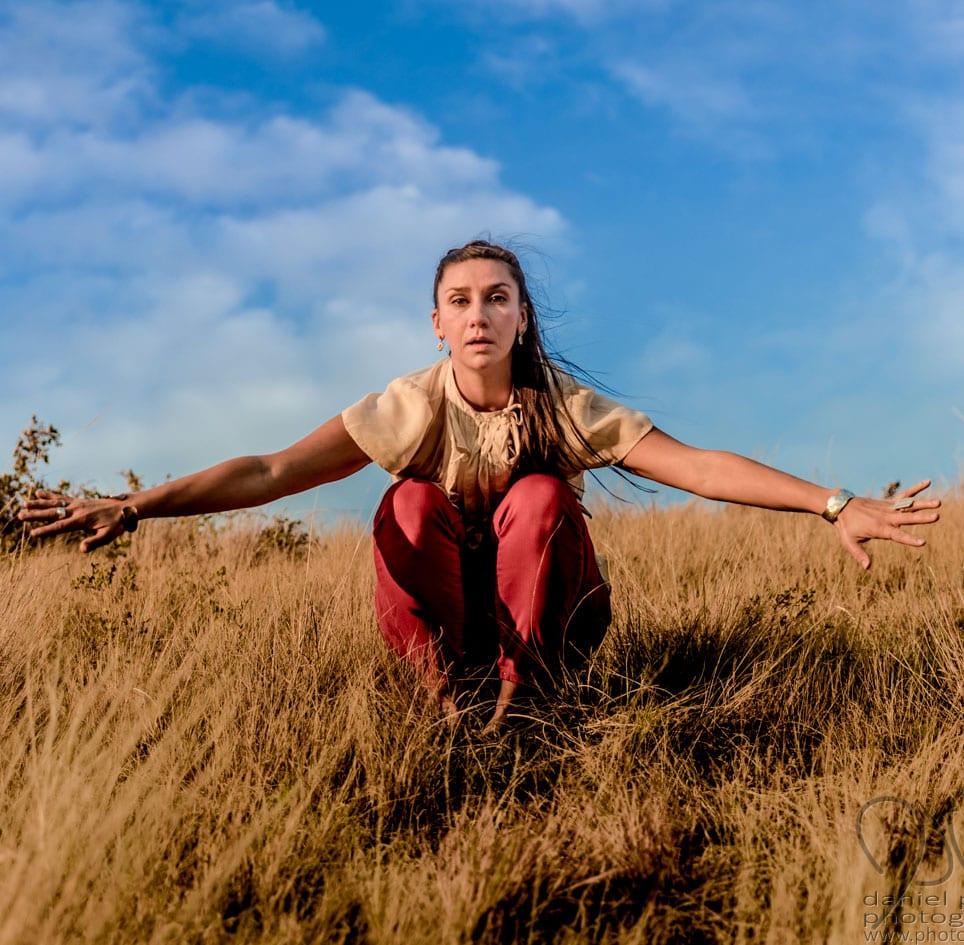 Portrait of dance artist Jeanette Kotowich